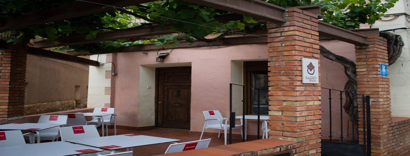 Antigua Fonda de Villel - Terraza